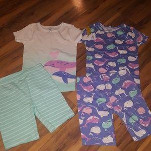 2 New Carter's Pajamas